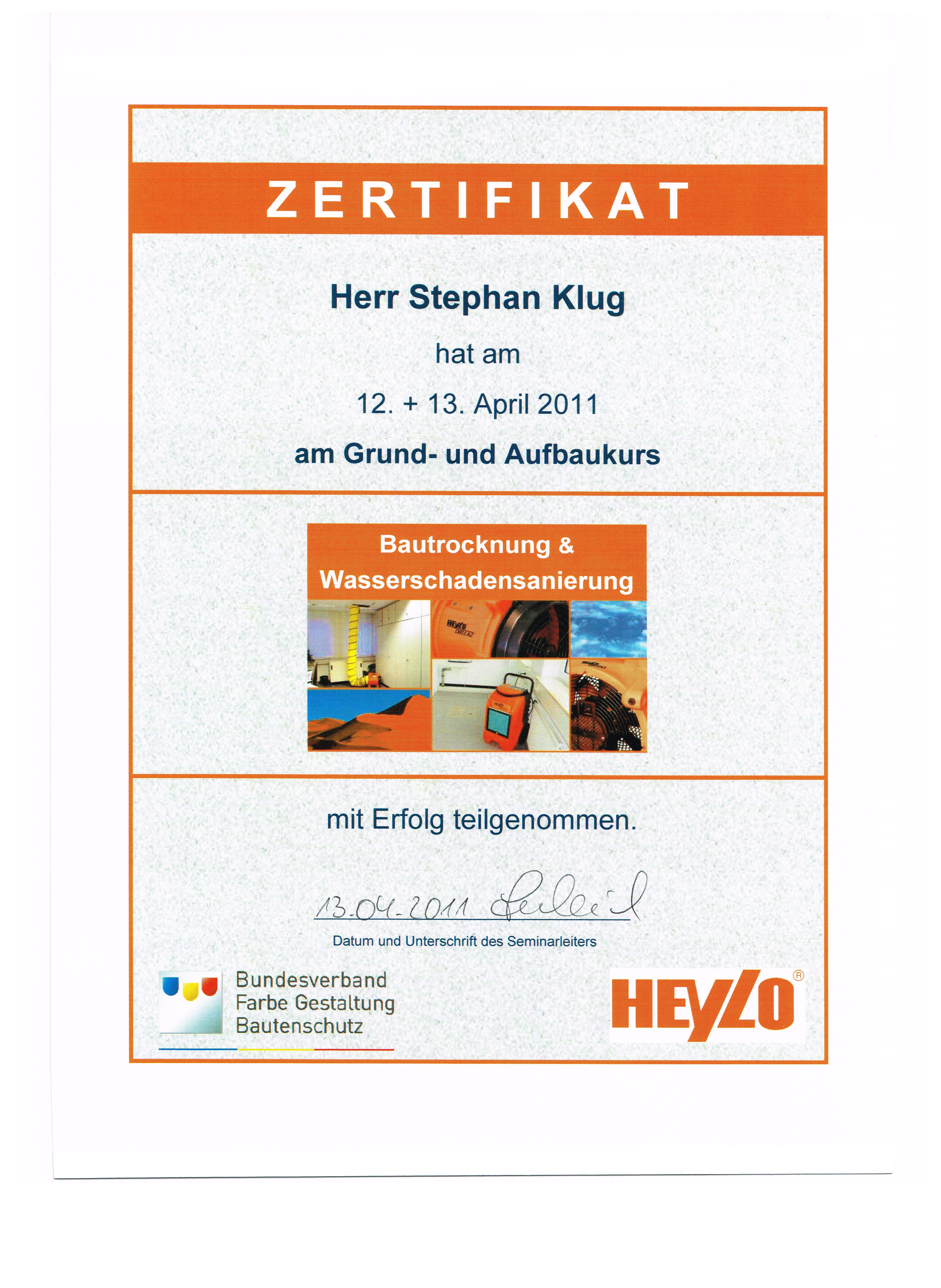Zertifikat_Bautrocknung_und_Wasserschadensanierung